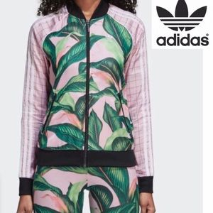 Adidas Palm Leaf Track Jacket